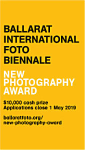 Ballarat International Foto Biennale New Photography Award